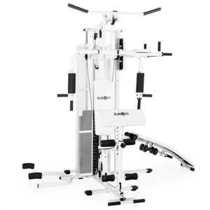 KLARFIT - Ultimate Gym 5000 Appareil multifonction fitness musculation - blanc