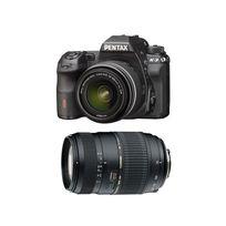 Pentax - Pack K3 Noir + Dal 18-55 Wr + Tamron 70-300