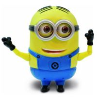 Mtw Toys - Figurine parlante Moi, Moche et Méchant 2 : Minion Dave