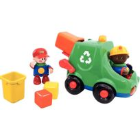 Tolo Education - le camion de tri des déchets tolo + 2 personnages