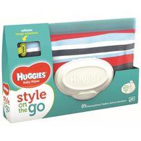 Huggies - Lingettes Style Pochette 1 paquet de 40 lingettes