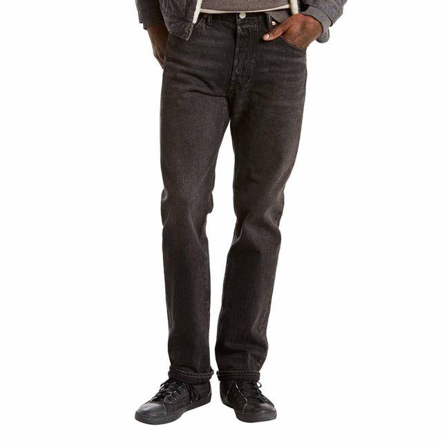 Levi S - Jean 501 Original Fit Delancey Noir - pas cher Achat   Vente Jeans  homme - RueDuCommerce 775183679dc9