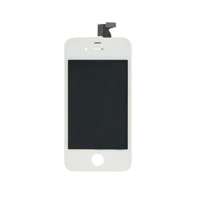 mecer ecran iphone 4s complet blanc pas cher achat vente appcessoires rueducommerce. Black Bedroom Furniture Sets. Home Design Ideas