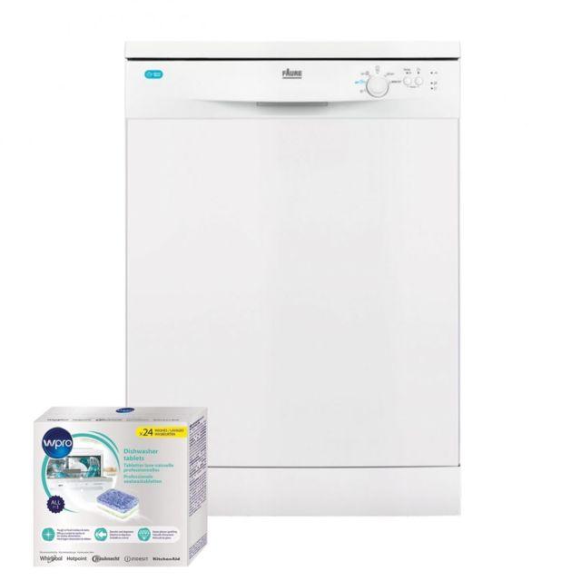 Faure Lave-vaisselle posable Blanc 47dB A+ 13 couverts 60cm Technologie AirDry