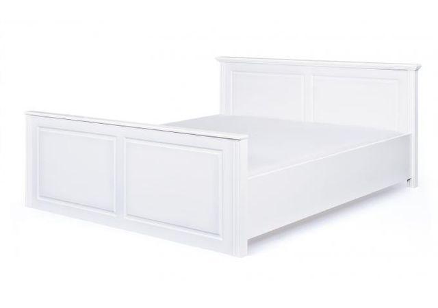 lit bois 160x200. Black Bedroom Furniture Sets. Home Design Ideas