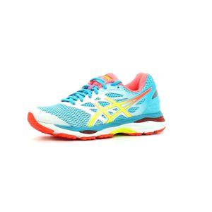 chaussure de running homme asics gel cumulus 18 bleu rouge asics
