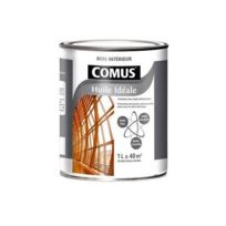 Comus - Huile Ideale Protection bois intérieur 1L Mat Blanc - 29967