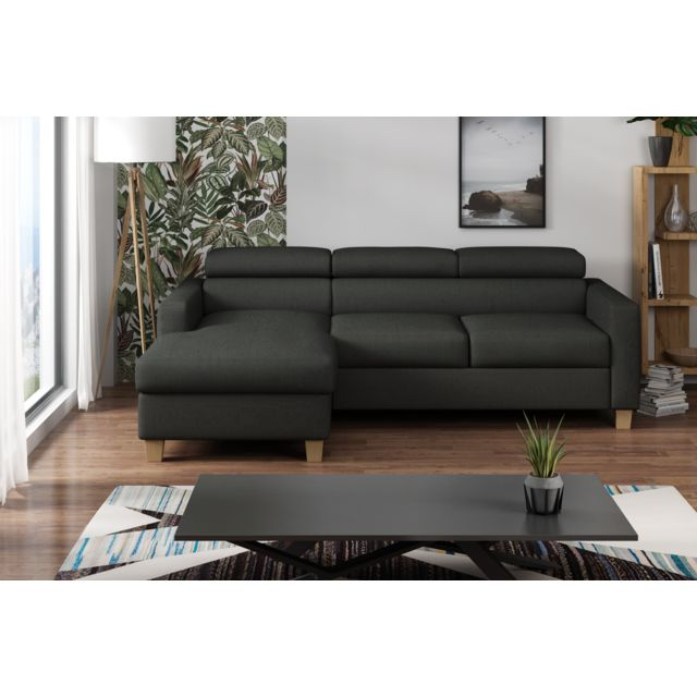 Canapé lit angle droit Collection Finesse
