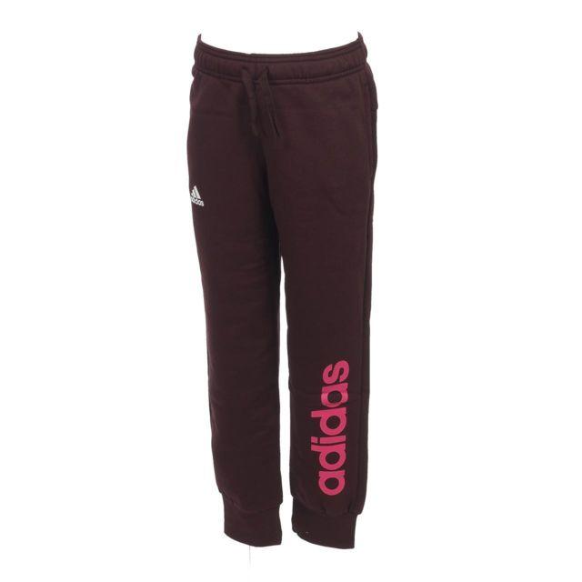 Pantalon de survêtement Yg linear bdx pant girl Rouge 46648