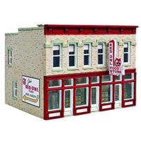 Sohni-Wicke - Walthers Cornerstone 1/87 Ho : Magasin D'ALIMENTATION -jim'S Red Owl - Kit
