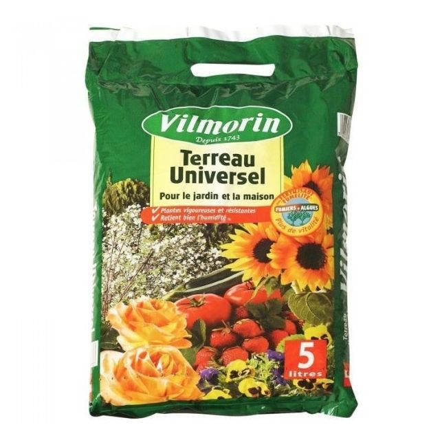 Vilmorin - Terreau universel sac de 5 litres