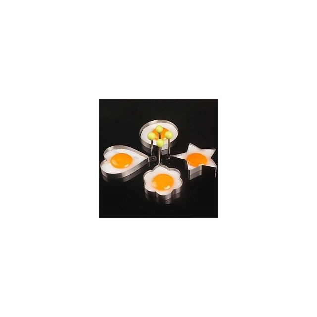 Alpexe Moule a œufs aux plats lot de 4