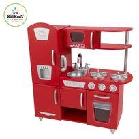 Kidkraft - Cuisine enfant Vintage rouge