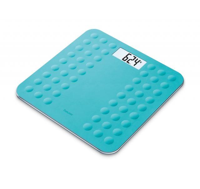 BEURER Pèse-personne en verre GS 300 Turquoise