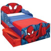 lit enfant spiderman
