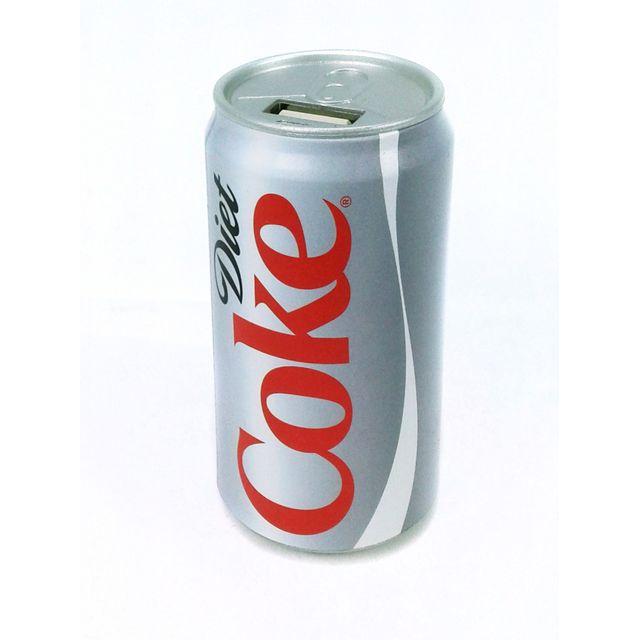 URBAN FACTORY - Batterie externe Coca-Cola Light - 10400 mAh