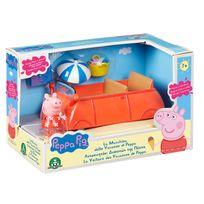 voiture peppa pig achat voiture peppa pig pas cher rue. Black Bedroom Furniture Sets. Home Design Ideas