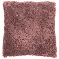 Tiseco Home Studio - Coussin Fluffy 45 x 45 cm Rose Pastel