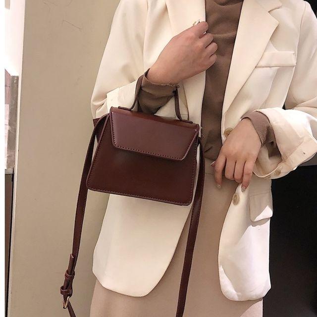Wewoo Sac porté épaule à bandoulière en cuir Pu à la mode