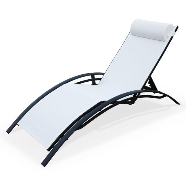 Lounge Garden De Bain Soleil En Aluminium Et Alice's Textilène gyf6vIb7Y