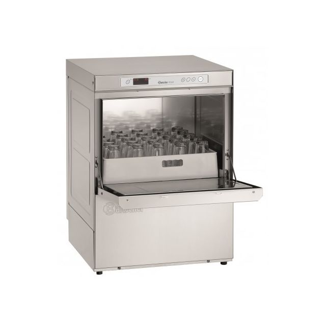 Bartscher Lave-vaisselle avec pompe doseuse pour rinçage - panier 500x500 mm - 5,06 kW 400V triphase