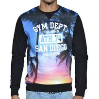 Sohype - So Hype - Sweat Shirt - Homme - Gym Dept - Noir
