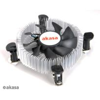 Akasa - Kit Radiateur + Ventilateur Cpu - Low Profile - Pwm - Ak-cce-7106HP - Intel