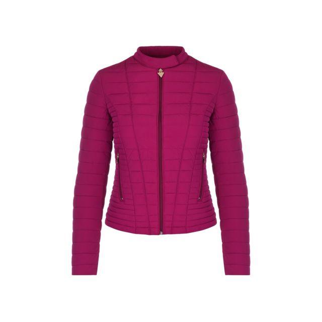 4f56788018 Guess - Doudoune Femme Vona Rose - Taille - L - pas cher Achat / Vente  Blouson femme - RueDuCommerce
