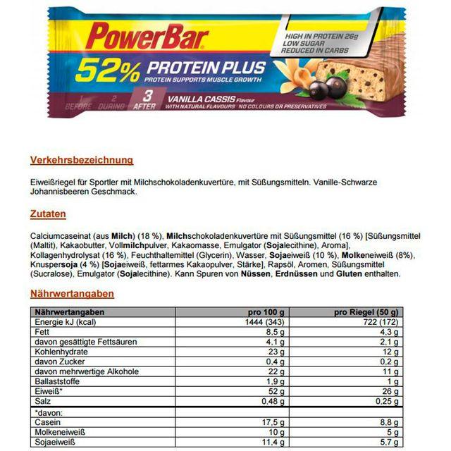Nutrition sport - Vanilla Cassis