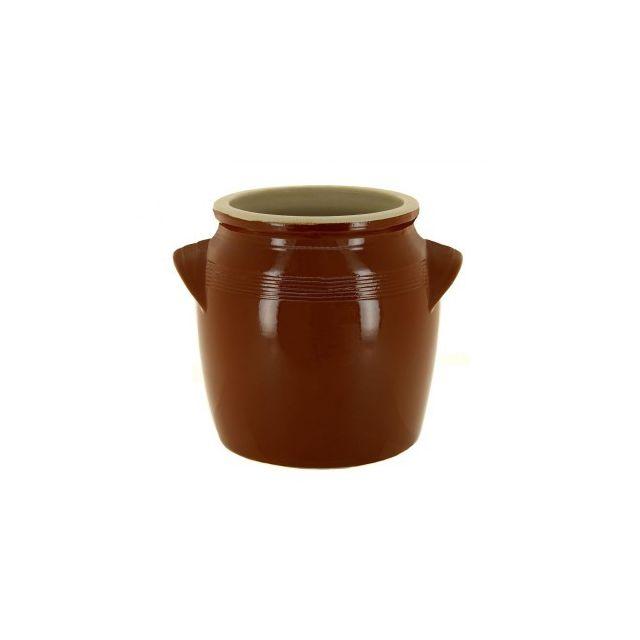 Digoin Ceramique Pot à beurre en grès 1,7 L
