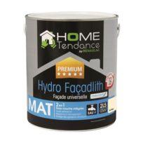 Home Tendance - Peinture façade universelle Hydro Façadlith hydropliolite 2,5 L ton pierre mat - by Renaulac