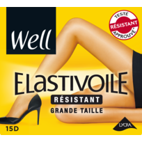 WELL - Collant Elastivoile résistant - Grande taille - Ibiza