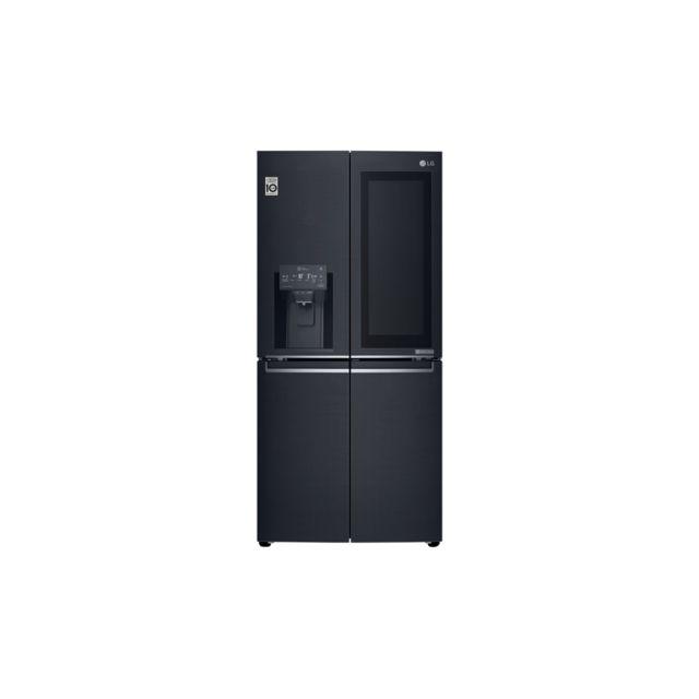 LG réfrigérateur américain 83.5cm 423l a+ - gmx844mckv