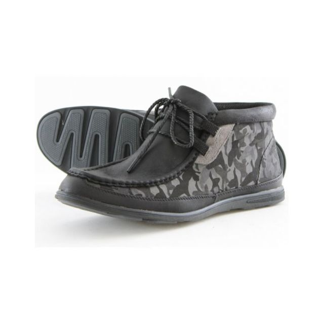 6TO5 Low boots homme 1389-2 Noir