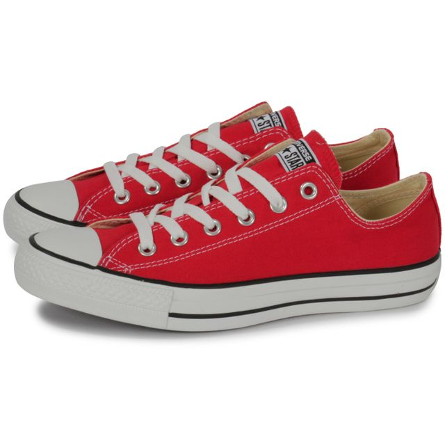 Converse Chuck Taylor All star Low Rouge pas cher Achat