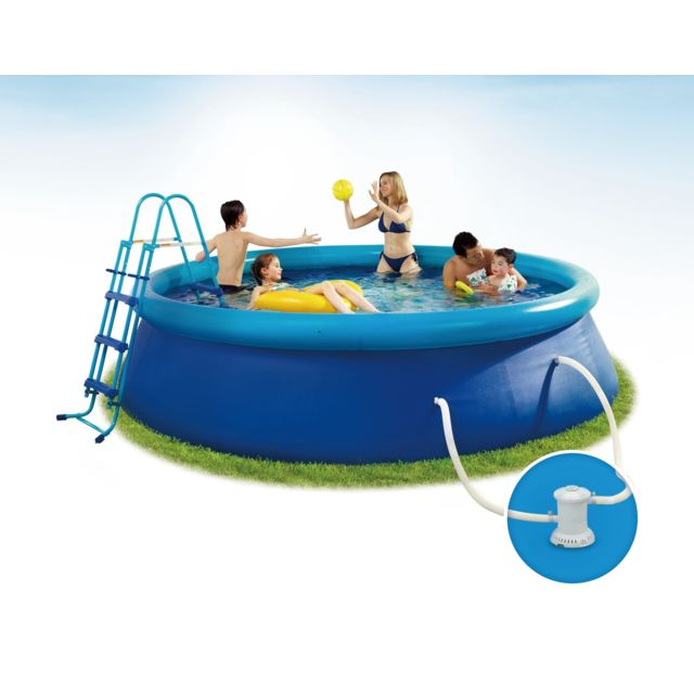 CARREFOUR Piscine autoportante IBIZA - Dia 3,66m x H.0,91m - Ronde Kit piscine autoportante IBIZA - Dimension : dia. 366 x 91 cm.Caractéristiques techniques :- Dimensions extérieure de la piscine : 366 x 91 cm. - Dimensions int&e