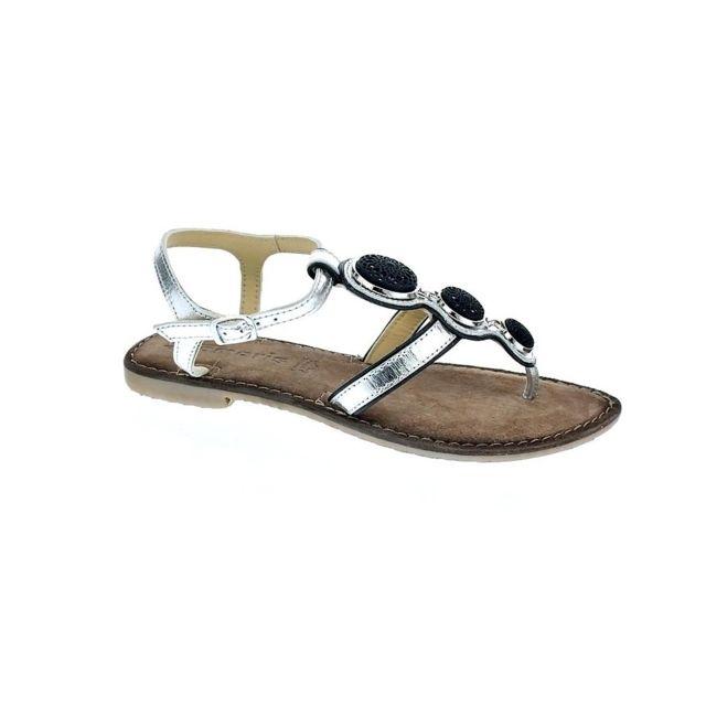 Chaussures Pas 28 Modele Tamaris Sandales 941 Argent Femme 28115 5Aj3L4R