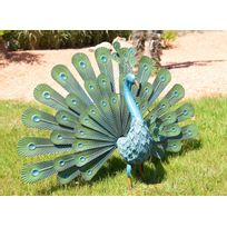 NORTENE - Paon décoratif Peacock