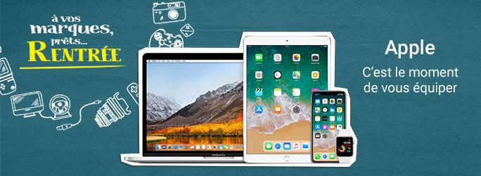 Apple - C'est le moment de vous équiper