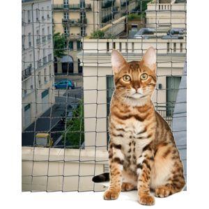 Les animaux de la fee filet de protection chat pour for Protection fenetre pour chat