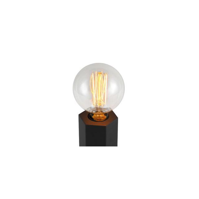 Rendez Vous Deco - Lampe à poser Ether noire ampoule incluse