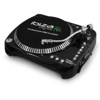 IBIZA - Tourne disque platine vinyle DJ convertisseur MP3 USB