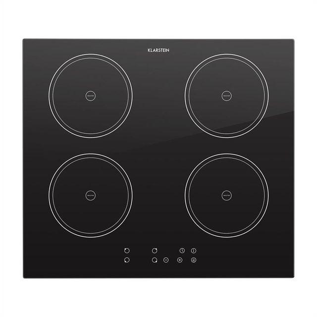 klarstein virtuosa double plaque de cuisson induction 7000w 59 x 52 cm 4 zones achat plaque. Black Bedroom Furniture Sets. Home Design Ideas