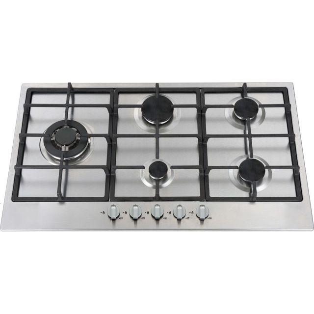 limit plaque de cuisson gaz 90cm 5 foyers ligkxg90x achat plaque de cuisson gaz. Black Bedroom Furniture Sets. Home Design Ideas