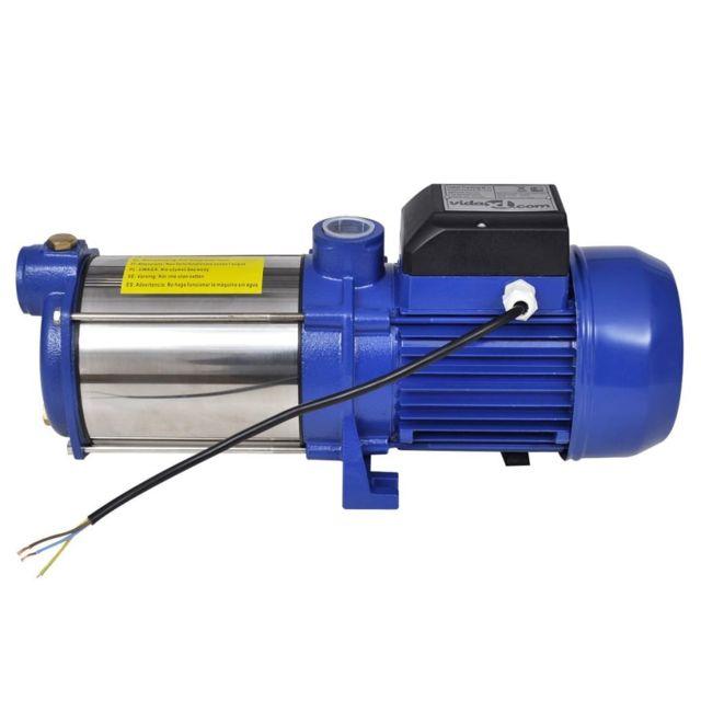 Icaverne - Pompes d'irrigation, de gavage et pour arroseurs edition Pompe à eau de surface bleue 1 300 W 5 100 l/h