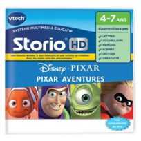 Vtech - Disney - Jeu Storio HD-Pixar Aventures