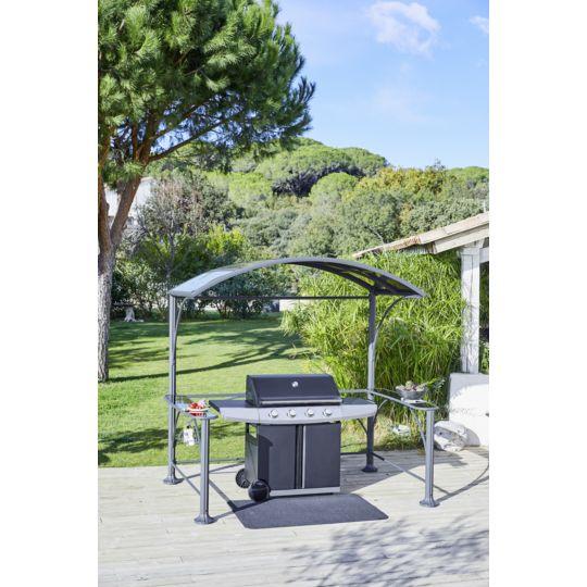 Tonnelle barbecue - Acier et aluminium à Prix Carrefour