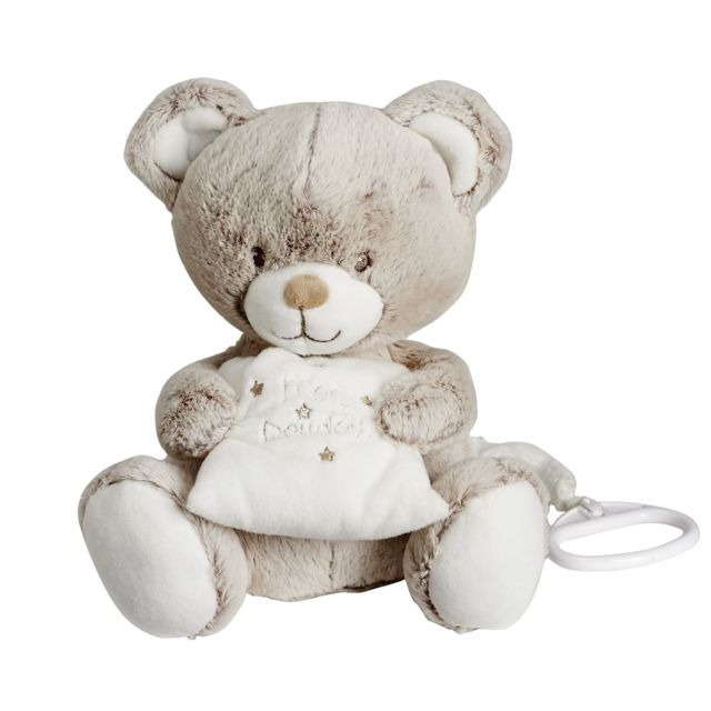 TEX BABY - Doudou musical ours - pas cher Achat   Vente Doudous ... 60ea4a90fdc7