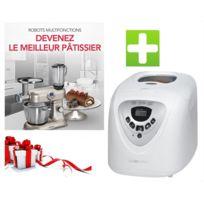BOMANN - Pack robot cuiseur KM379CB + Machine à pain
