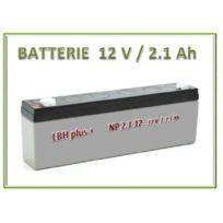 LBH - Batterie 12V rechargeable stationnaire 2.1 Ah 178x35x66